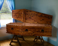 Red Cedar Coffin