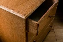 drawer ajar