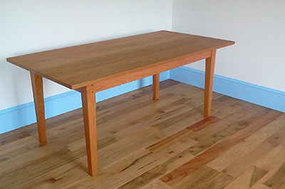 The Farmhouse Dining Table Dimensions Are 36W X 72L 30H